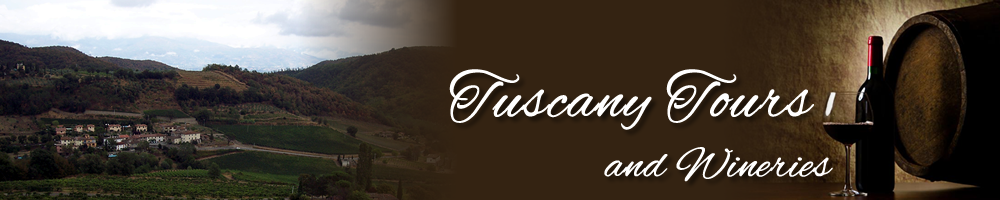Tuscany Tours and Wineries header image